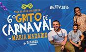 Folder do Evento: 6º Grito de Carnaval