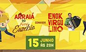Folder do Evento: Arraiá do Forró Euzébio