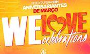 Folder do Evento: We Love Celebration