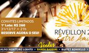 Folder do Evento: Reveillon no Monteiro Lobato