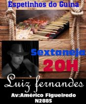 Folder do Evento: SEXTANEJA COM LUIS FERNANDES