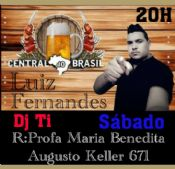 Folder do Evento: LUIZ FERNANDES & DJ.TI