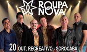 Folder do Evento: Show Roupa Nova - Sorocaba/SP