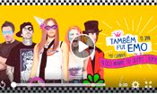 Folder do Evento: Também Fui Emo ★ Pré Carnaval