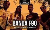 Folder do Evento: Banda F90
