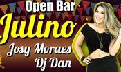 Folder do Evento: Open Bar Julino - com Josy Moraes