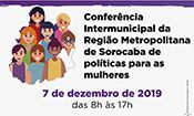 Folder do Evento: Conferência Intermunicipal da Região