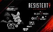 Folder do Evento: Resistenty • Cat Dealers • Special B-Day
