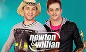 Folder do Evento: Newton & Willian
