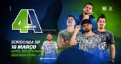 Folder do Evento: 4 amigos + Banca de piadas (SHOW NOVO)