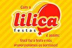 Lilica Festas Locação de Mesas e Cadeiras, Brinquedos Infláveis e Tudo para sua Festas