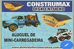 Construmax Disk Entulho - Locação de Caçambas e Mini Carregadeiras