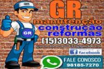 GR Construção e Manutenção - Elétrica, Pintura, Pedreiro, limpeza de Caixa de Agua