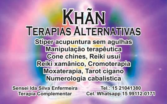 Khãn -  Terapias Alternativas - Karatê Infantil - Karatê Adulto