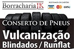 Borracharia JK - Pneus e Rodas, Nacionais, Importados - São Roque