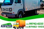 Adevitor Tansportes e Mudanças - Atendemos empresas e também transportadoras