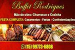 Buffet Rodrigues Especialista em evento com churrasco,café colonial,  feijoadas ,strogonoff, parmegiana etc....
