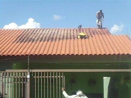 Como lavar telhado