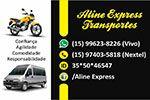 Aline Express Transportes -  Motoboys e Transporte Executivo de Vans