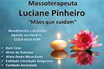 Luciane Pinheiro Massoterapeuta