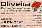 Oliveira Construções e Reformas do Alicerce ao Acabamento