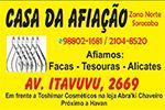 Casa da Afiação - Afiamos: facas, tesouras e alicates  - Sorocaba
