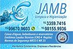 JAMB - Limpeza e Higienização