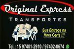 Original Express -  Motoboy -  Pickup - Fiorino -  Entregas para todo estado de SP