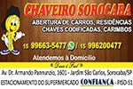 Chaveiro Sorocaba - Chaves Codificadas - Abertura de Residencias, Comércios e Automotivas e outros - Sorocaba