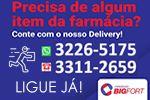 Farmácias Bigfort - Delivery de Segunda à Sábado das 8:00 ás 17:00