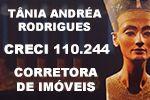 Tânia Andréa Rodrigues CRECI 110.244 Corretora de Imóveis