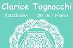 Psicóloga Clarice Tognocchi - Psicoterapia infanto-juvenil, adulto e de casal