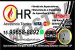 HR Assistência Técnica Autorizada | Aquecedores e Conversão de Fogão