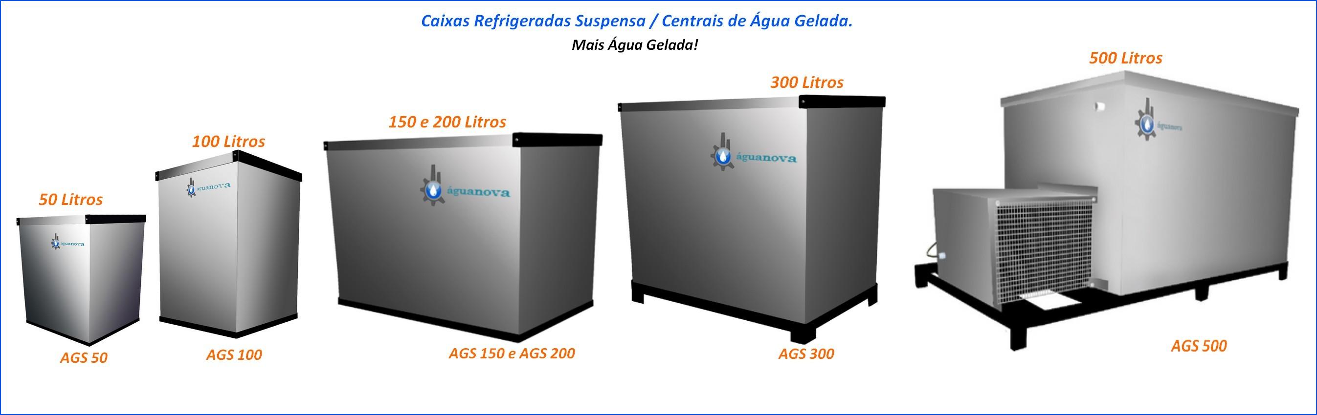 Caixas refrigeradas suspensas