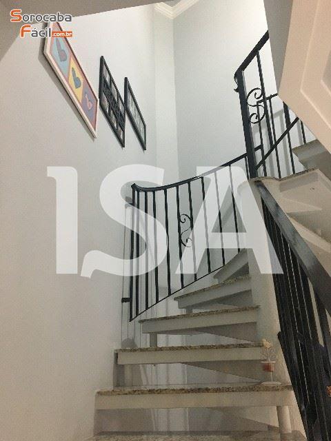 Casa venda, Condomínio residencial Villa Santa Rosália, Sorocaba, 03 dormitórios com armários planejados, 1 suíte, 1 banheiro social, área de serviço