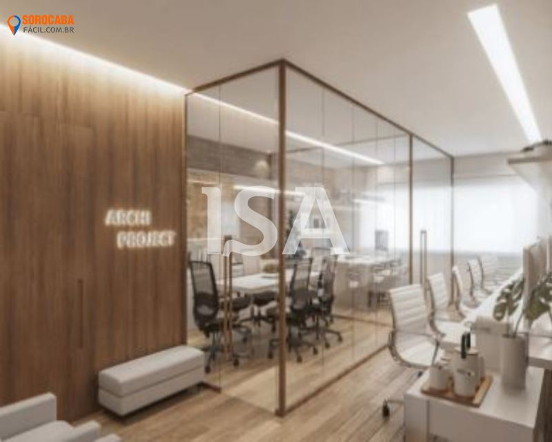 Sala comercial venda, Santa Maria Offices, Vila Hortência, Sorocaba, 1 sala, banheiro, garagem 1 vaga