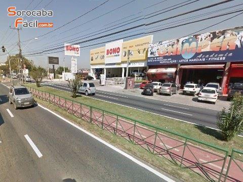 Área comercial em Sorocaba, ótima localização, 671m² de terreno/total.