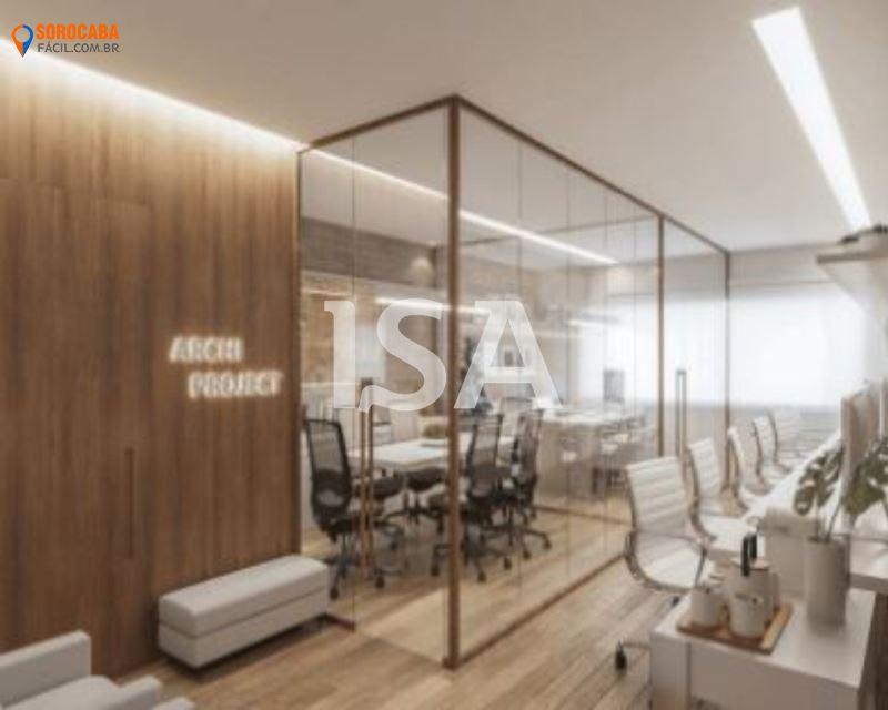 Sala comercial venda, Santa Maria Offices, Vila Hortência, Sorocaba, sala, banheiro, garagem 1 vaga