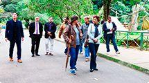Prefeita em exercício visita o Zoológico de Sorocaba
