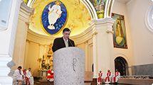 Prefeito e primeira-dama participam de missa de aniversário e de apresentação da Sinfônica