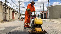 Prefeitura dá início a mais uma megaoperação tapa-buracos
