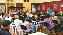 Grupo Entre Amigos se apresenta na Biblioteca Infantil e no Campolim