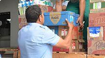 Entidades recebem doação de leite por meio do FSS