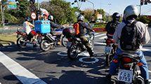 Pesquisa on-line quer identificar vias com maior fluxo de motos com escapamento irregular