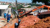 Saae conclui primeiros 25% de obra que beneficiará 26 bairros da ... - Sorocaba Fácil