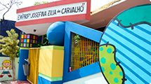 Escola municipal no Jardim Guadalajara ganha nova pintura