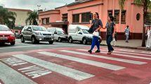 �Faixa Viva� orientar� pedestres que passarem pela regi�o central